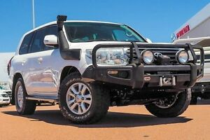 2012 Toyota Landcruiser VDJ200R MY12 GXL White 6 Speed Sports Automatic Wagon Westminster Stirling Area Preview