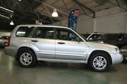 2004 Subaru Forester MY04 XT Silver 4 Speed Automatic Wagon Victoria Park Victoria Park Area Preview