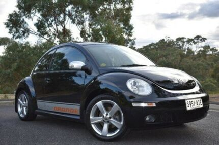 2010 Volkswagen Beetle 9C MY2010 BlackOrange Coupe Black 6 Speed Sports Automatic Liftback St Marys Mitcham Area Preview