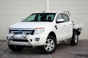 2012 Ford Ranger PX XLT Double Cab White 6 Speed Sports Automatic Utility Seaford Frankston Area Preview