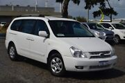 2007 Kia Grand Carnival VQ EX White 5 Speed Sports Automatic Wagon Pearsall Wanneroo Area Preview