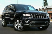 2015 Jeep Grand Cherokee WK MY15 Limited Brilliant Black Crystal Pearl 8 Speed Sports Automatic Wago Blacktown Blacktown Area Preview