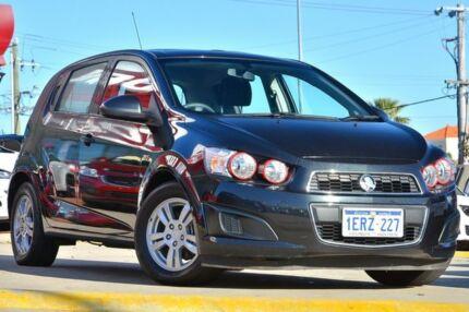 2012 Holden Barina TM MY13 CD Carbon Flash Black 5 Speed Manual Hatchback Victoria Park Victoria Park Area Preview