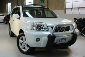 2004 Nissan X-Trail T30 II TI White Manual Wagon Knoxfield Knox Area Preview
