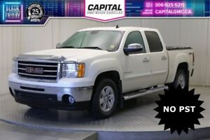 2013 GMC Sierra 1500 SLT Crew Cab *Local Trade-No PST-Leather-Su