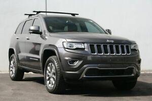 2014 Jeep Grand Cherokee WK MY15 Overland Granite Crystal 8 Speed Sports Automatic Wagon