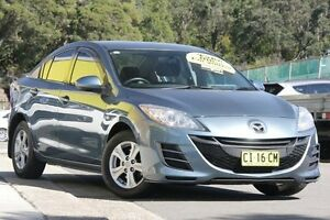 2009 Mazda 3 BL10F1 Maxx Activematic Blue 5 Speed Sports Automatic Sedan Cardiff Lake Macquarie Area Preview
