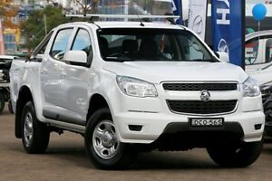 2015 Holden Colorado RG MY16 LS-X (4x4) White 6 Speed Automatic Crew Cab P/Up Zetland Inner Sydney Preview