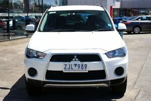 2012 Mitsubishi Outlander ZH MY12 LS 2WD White 5 Speed Manual Wagon
