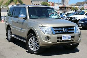 2014 Mitsubishi Pajero NW MY14 Exceed Gold 5 Speed Sports Automatic Wagon Northbridge Perth City Area Preview