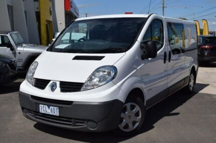2014 Renault Trafic X83 Phase 3 Low Roof LWB Quickshift White 6 Speed Seq Manual Auto-Clutch Van