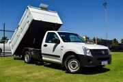 2007 Holden Rodeo RA MY07 LX White Manual Cab Chassis Greenfields Mandurah Area Preview