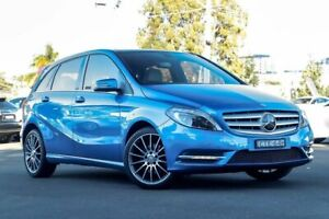 2014 Mercedes-Benz B200 W246 DCT Blue 7 Speed Sports Automatic Dual Clutch Hatchback Kirrawee Sutherland Area Preview