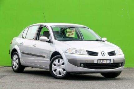 2006 Renault Megane II L84 Phase II Expression Silver 4 Speed Automatic Sedan Ringwood East Maroondah Area Preview