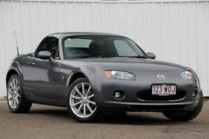 2008 Mazda MX-5 NC30F1 MY07 Roadster Coupe Grey 6 Speed Manual Hardtop Chermside Brisbane North East Preview