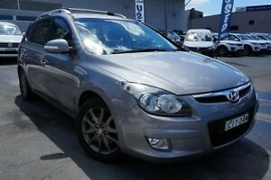 2010 Hyundai i30 FD MY11 SLX cw Wagon Silver 4 Speed Automatic Wagon Pearce Woden Valley Preview