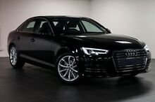 2016 Audi A4 B9 F4 MY16 Sport S tronic Black 7 Speed Sports Automatic Dual Clutch Sedan North Melbourne Melbourne City Preview