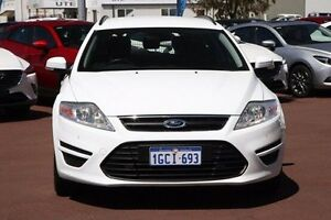 2012 Ford Mondeo MC Zetec Tdci White 6 Speed Sports Automatic Wagon East Rockingham Rockingham Area Preview