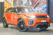 2016 Land Rover Range Rover Evoque L538 MY16.5 SI4 HSE Dynamic Orange 9 Speed Sports Automatic Wagon Perth Perth City Area Preview
