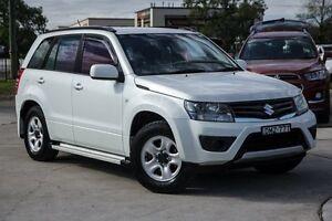 2013 Suzuki Grand Vitara JB MY13 Urban 2WD White Pearl 4 Speed Automatic Wagon Penrith Penrith Area Preview