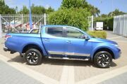 2015 Mitsubishi Triton MQ MY16 Exceed Double Cab Blue 5 Speed Sports Automatic Utility Wayville Unley Area Preview