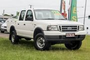 2005 Ford Courier PH GL Crew Cab White 5 Speed Automatic Utility Gympie Gympie Area Preview