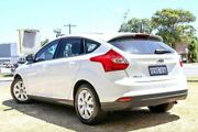 2015 Ford Focus LW MKII MY14 Ambiente PwrShift White 6 Speed Sports Automatic Dual Clutch Hatchback Victoria Park Victoria Park Area Preview