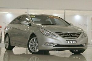 2010 Hyundai i45 YF Premium Silver 6 Speed Sports Automatic Sedan Waitara Hornsby Area Preview