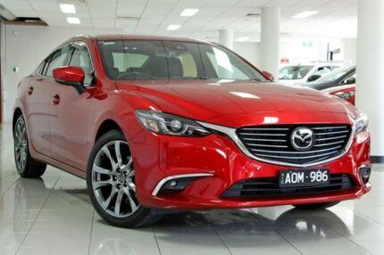 2017 Mazda 6 GL1031 Atenza SKYACTIV-Drive Soul Red 6 Speed Sports Automatic Sedan