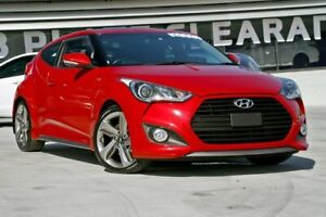 2014 Hyundai Veloster FS3 SR Coupe Turbo Red/Black 6 Speed Sports Automatic Hatchback Hillcrest Logan Area Preview