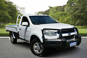 2012 Holden Colorado RG LX (4x4) White 5 Speed Manual Cab Chassis Kewdale Belmont Area Preview