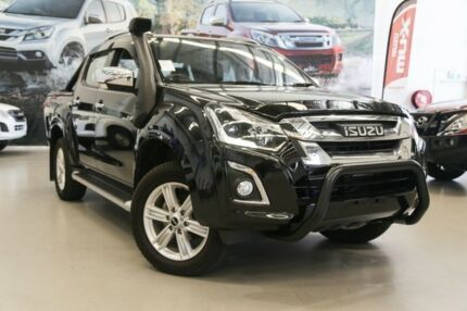 2017 Isuzu D-MAX MY17 LS-Terrain Crew Cab Cosmic Black 6 Speed Sports Automatic Utility Rockingham Rockingham Area Preview