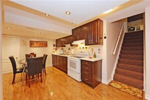 UPGRADED TWO BEDROOMS NEWER BASEMENT IN PRIME CHURCHILL MEADOWS