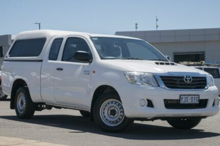 2013 Toyota Hilux KUN16R MY12 SR Xtra Cab 4x2 White 5 Speed Manual Utility Phillip Woden Valley Preview