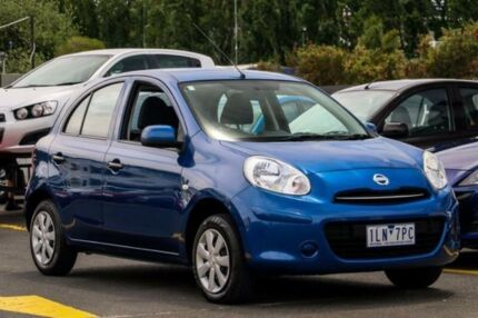 2014 Nissan Micra K13 Series 4 MY15 ST Blue 5 Speed Manual Hatchback Ringwood East Maroondah Area Preview