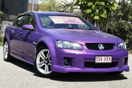 2007 Holden Commodore VE SV6 Purple 5 Speed Sports Automatic Sedan