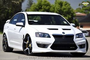 2010 Holden Special Vehicles GTS E Series 3 White 6 Speed Sports Automatic Sedan Lansvale Liverpool Area Preview