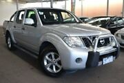 2013 Nissan Navara D40 S6 MY12 ST 4x2 Silver 6 Speed Manual Utility Hoppers Crossing Wyndham Area Preview