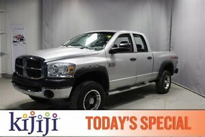2007 Dodge Ram 2500 TRX 4X4 Bluetooth,  A/C,