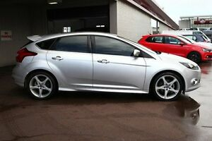 2012 Ford Focus LW MKII Titanium PwrShift Silver 6 Speed Sports Automatic Dual Clutch Hatchback Northbridge Perth City Area Preview