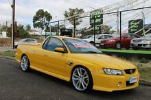 2006 Holden Commodore VZ MY06 Upgrade SS Thunder Yellow 6 Speed Manual Utility Blair Athol Port Adelaide Area Preview