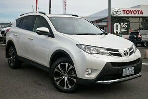 2014 Toyota RAV4 ASA44R MY14 Cruiser AWD White 6 Speed Sports Automatic Wagon Keysborough Greater Dandenong Preview