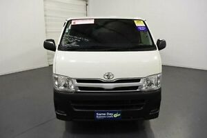 2011 Toyota Hiace TRH201R MY11 Upgrade LWB White Solid 4 Speed Automatic Van Moorabbin Kingston Area Preview