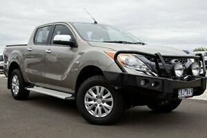 2012 Mazda BT-50 UP0YF1 GT Bronze 6 Speed Sports Automatic Utility Nunawading Whitehorse Area Preview