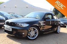 2009 09 BMW 1 SERIES 2.0 123D M SPORT 2D 202 BHP DIESEL - RAC DEALER