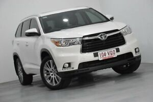 2015 Toyota Kluger GSU55R Grande AWD White 6 Speed Sports Automatic Wagon Indooroopilly Brisbane South West Preview