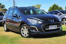 2012 Peugeot 308 T7 MY12 Access EGC HDi Blue 6 Speed Sports Automatic Single Clutch Wagon Wangara Wanneroo Area Preview