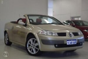 2005 Renault Megane II E84 Dynamique Gold 4 Speed Automatic Cabriolet Myaree Melville Area Preview