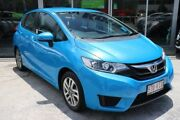 2014 Honda Jazz GE MY13 Vibe-S Vivid Sky Blue 5 Speed Automatic Hatchback Mount Gravatt Brisbane South East Preview