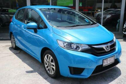2014 Honda Jazz GE MY13 Vibe-S Vivid Sky Blue 5 Speed Automatic Hatchback Mount Gravatt Brisbane South East Preview